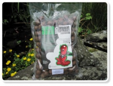 Super Boilies der Boilies mit Wurm-Wurmextract
