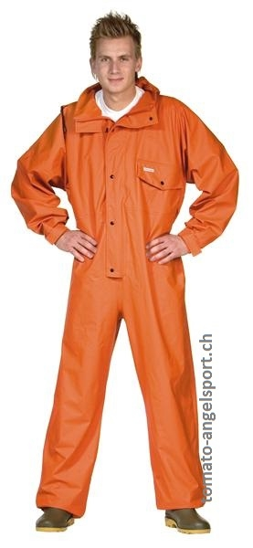 OCEAN - Ölzeug - PVC Overall Comfort stretch - orange